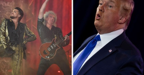 """Queen Made Donald Trump Take Down A Campaign Video Using """"We Will Rock You"""""""