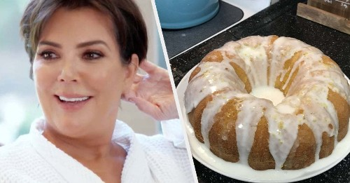 I Made Kris Jenner's Famous Lemon Cake Because I Needed To Understand The Hype