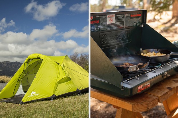 31 Things From Walmart That'll Help You Try Camping For The First Time