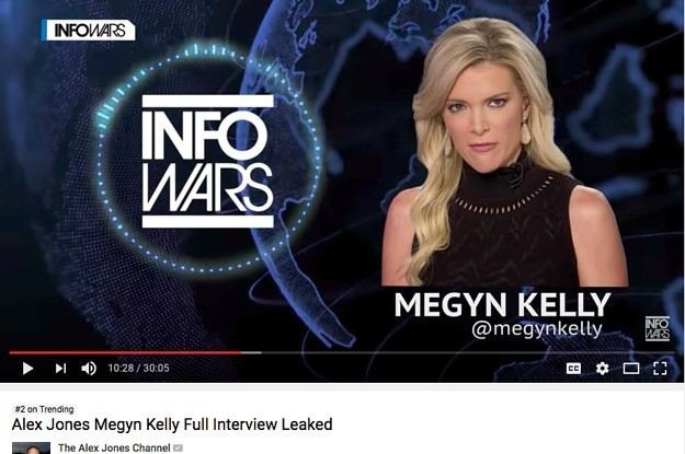 Alex Jones Scoops Megyn Kelly And Proves The Media Isn't Ready For The Trolls