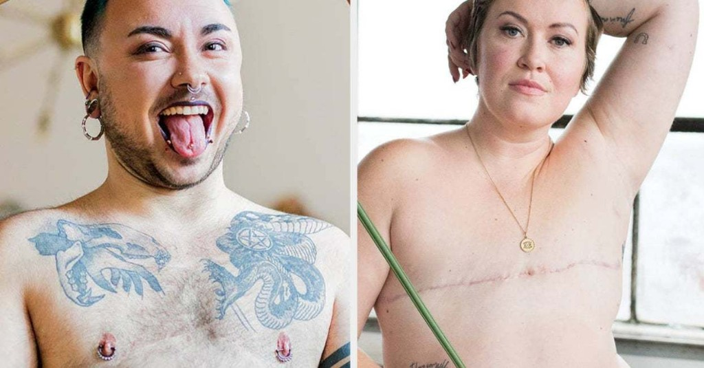 These 8 People Posed Nude To Show That Body Positivity Is For Everyone