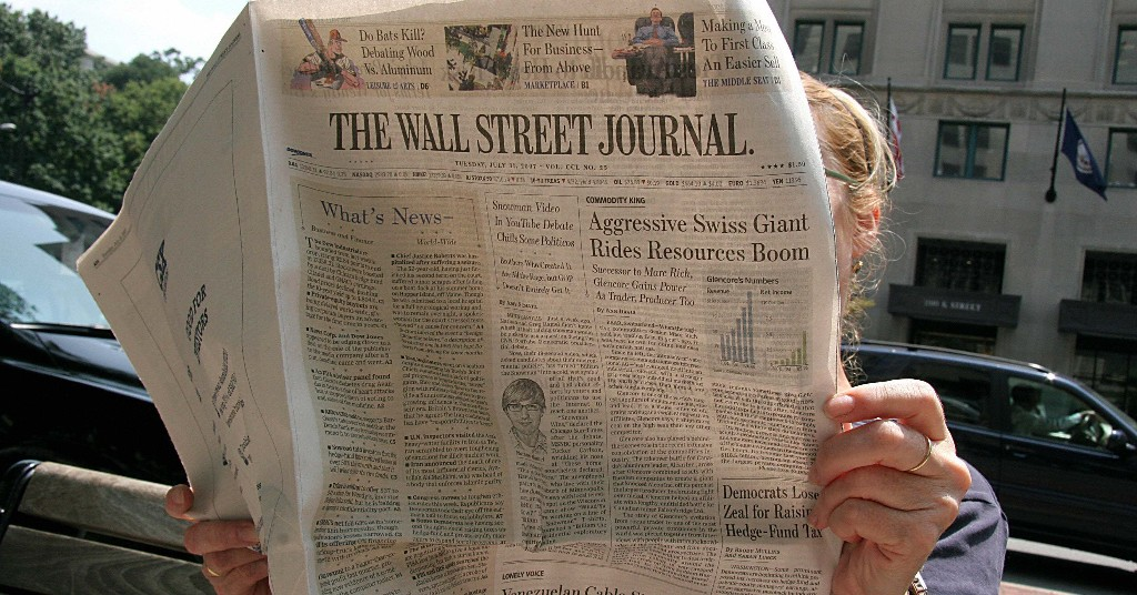 A Leaked Internal Report Reveals The Wall Street Journal Is Struggling With Aging Readers And Covering Race