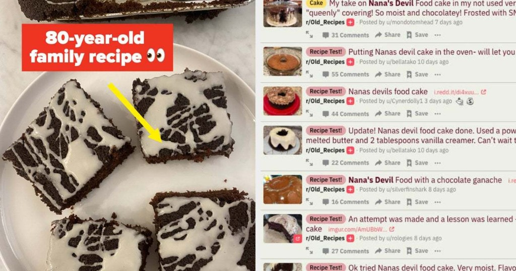 People On Reddit Are Obsessed With This Very Specific (And Very Good) Chocolate Cake Recipe