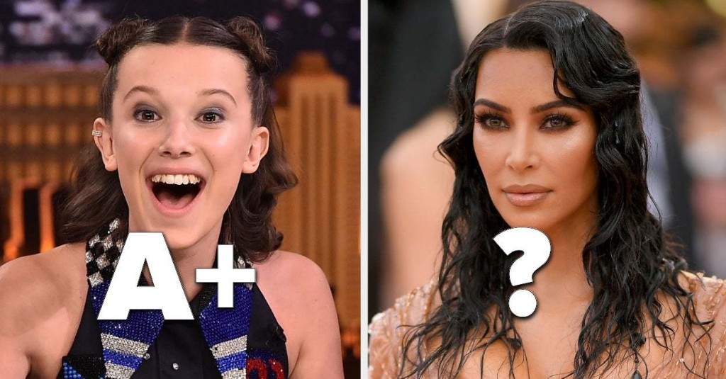 How Would You Grade Each Of These Celebrities' 2019?