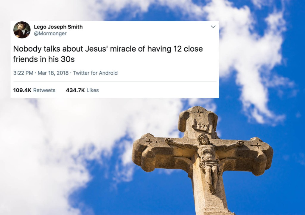 19 Biblical Jokes You'll Definitely Laugh At Since You're Going To Hell Anyway
