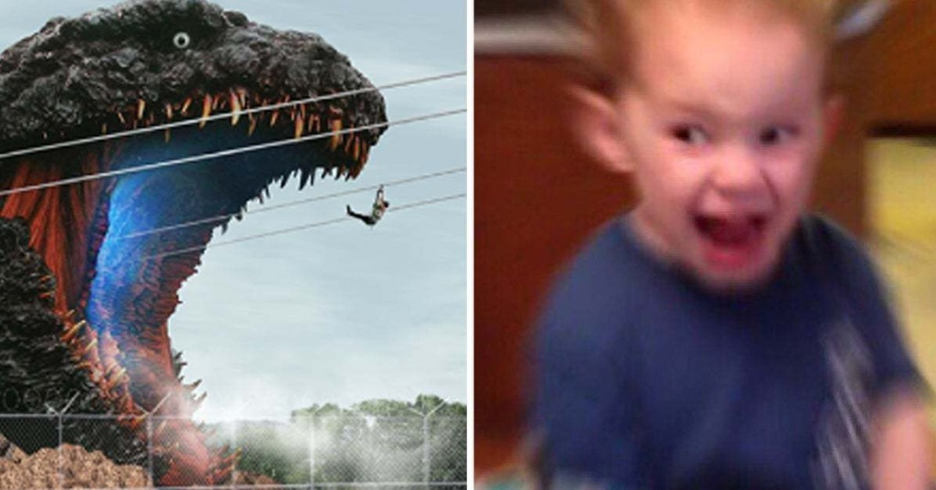 This Godzilla-Themed Zipline At An Amusement Park Is Another Reason I Wish I Lived In Japan