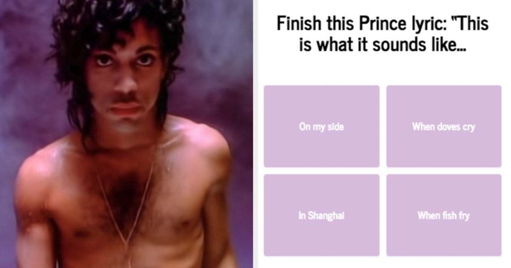 The Worse You Do On This Music Quiz, The Younger You Are