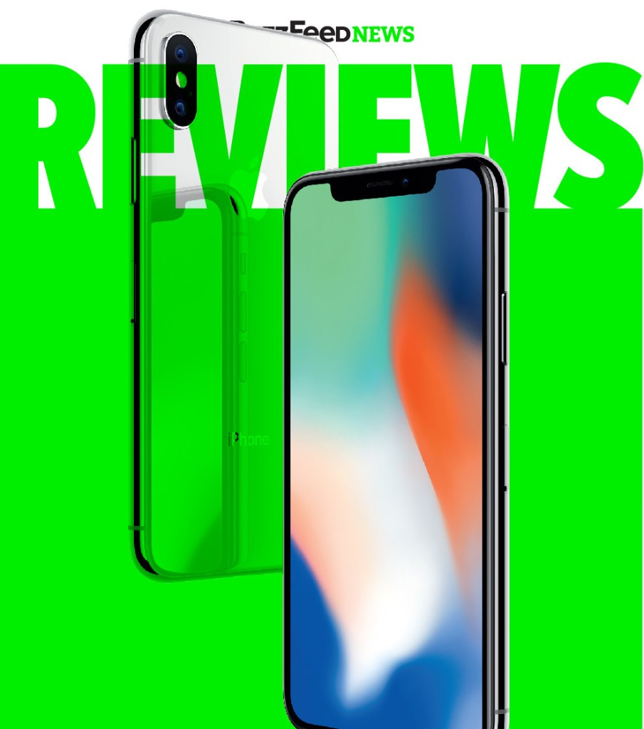 iPhone Ten - Magazine cover