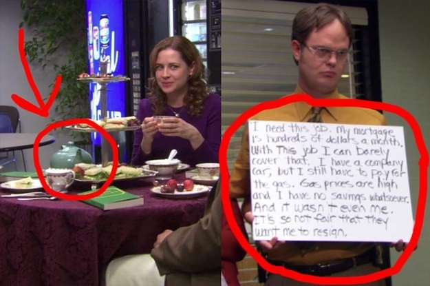 """21 Microscopic Details On """"The Office"""" That Prove Just How Deep That Show Really Goes"""