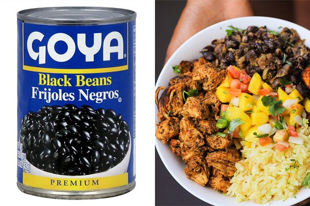 15 Easy Meals You Can Whip Up With A Can Of Black Beans