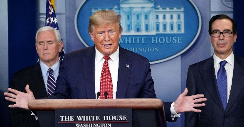 Trump Says Democrats And The Media Want To Keep Businesses Closed To Hurt His Reelection, Not Protect From The Coronavirus