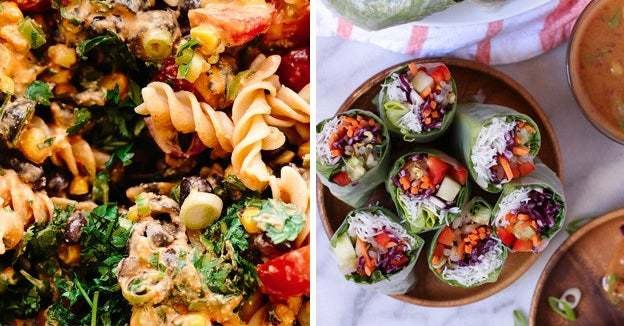13 Easy Vegan Recipes To Make When It's Hot As Heck Outside