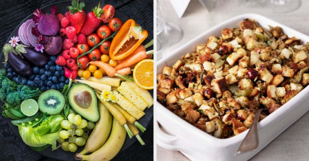 Pick A Food In Every Color To Reveal What Thanksgiving Side Dish Best Matches Your Personality