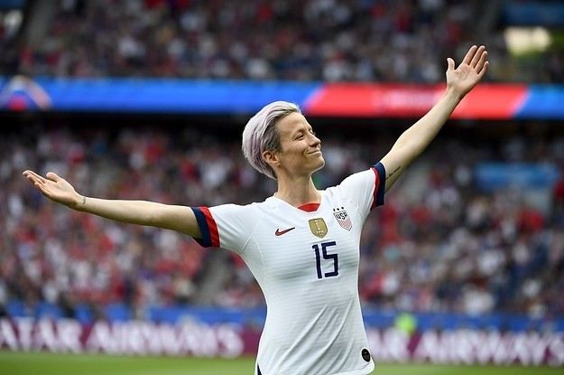 Megan Rapinoe Scored At The World Cup And The Photo Became A Hilarious Meme