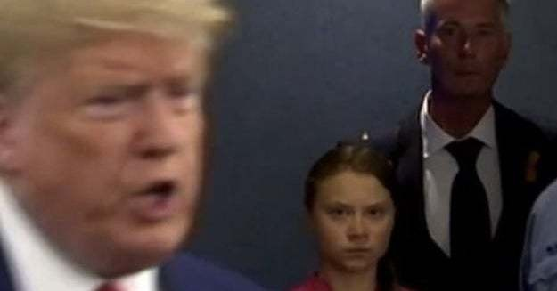 Greta Thunberg Delivered A Powerful Speech And Then Shot Trump A Death Stare At The UN Climate Summit