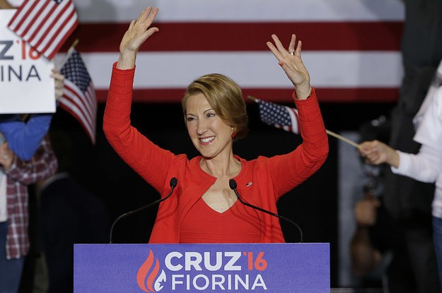 Carly Fiorina Randomly Burst Into Song After She Became Ted Cruz's Running Mate
