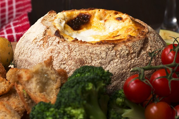 Behold: A Cheese Fondue Bread Bowl That Is Straight From Your Dreams