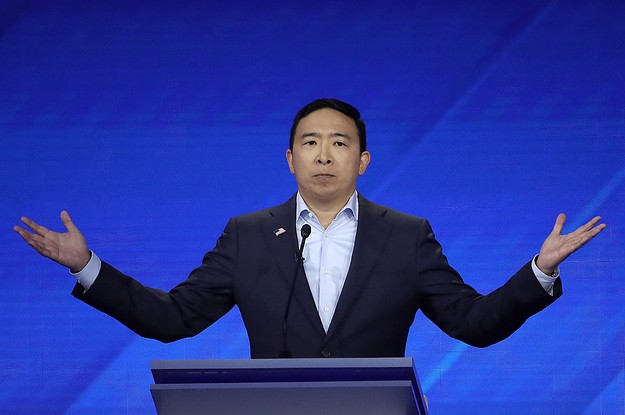 Andrew Yang Keeps Winning The Internet Primary