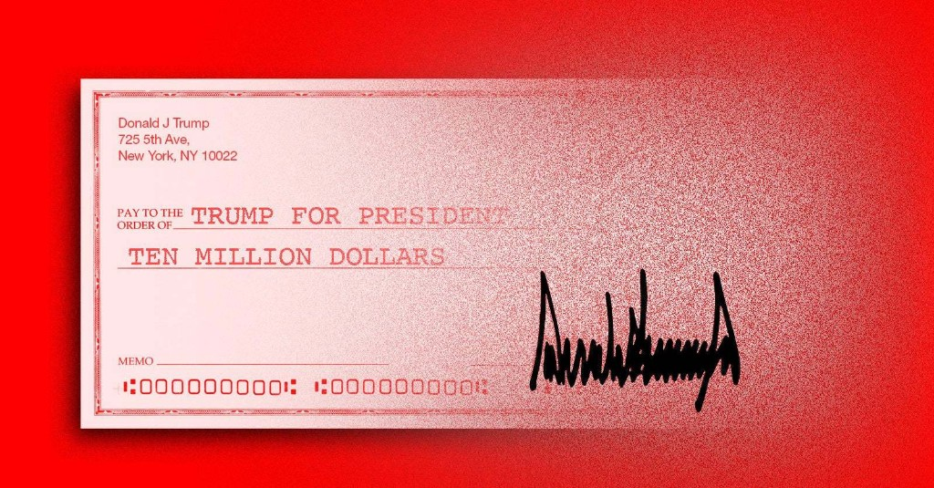 Trump Called The $10 Million A Loan. His Campaign Called It A Donation. Who Paid It Back, And How?