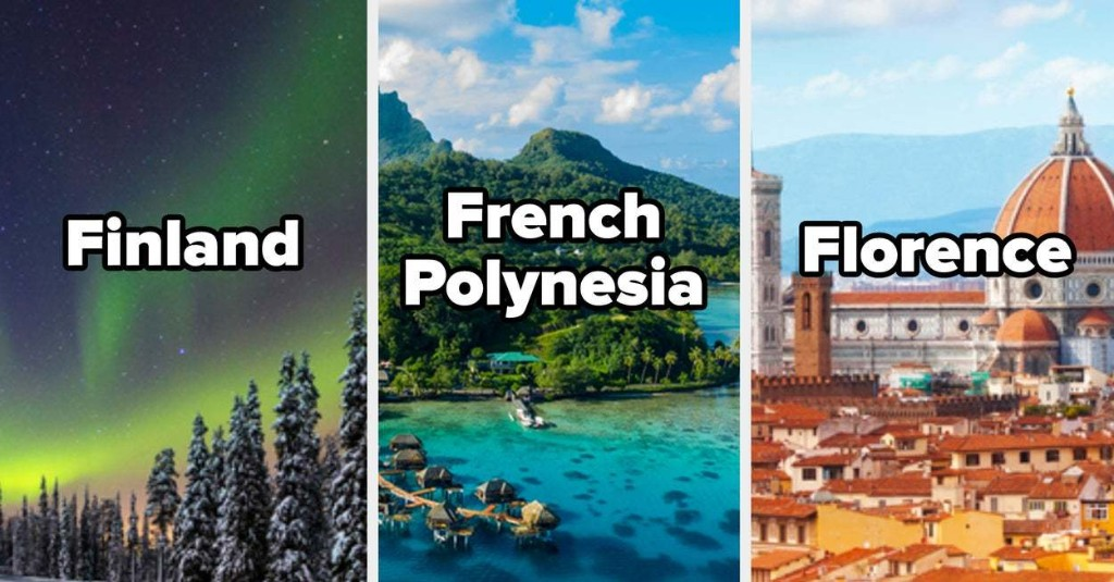 This A-Z Travel Quiz Will Reveal The First Letter Of Your Soulmate's Name
