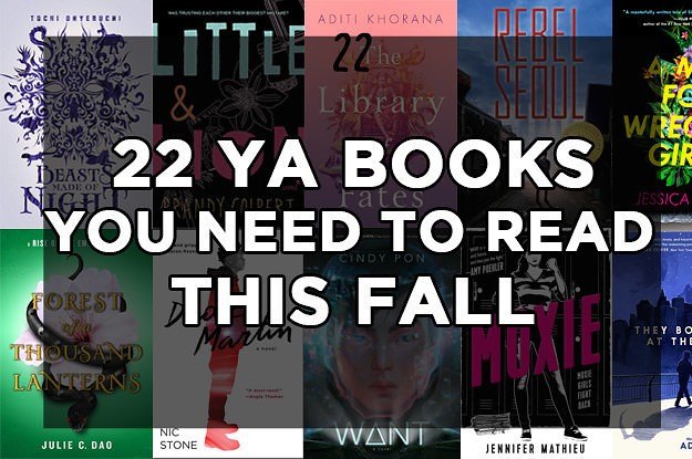 22 YA Novels You'll Want To Read From Cover To Cover This Fall