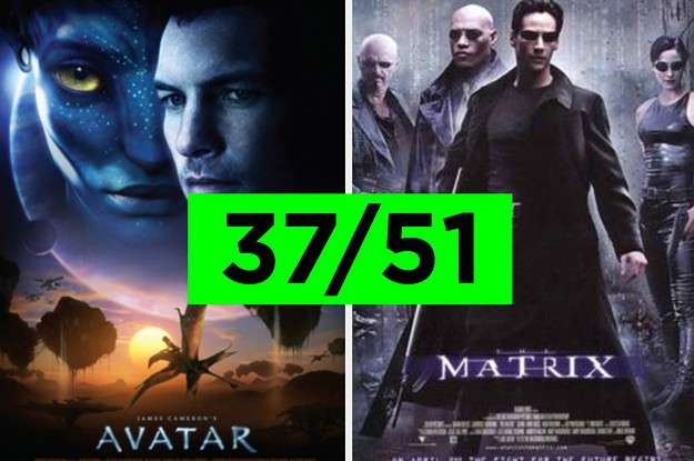 If You've Seen 37/51 Of These Movies, You're Probably A Huge Nerd