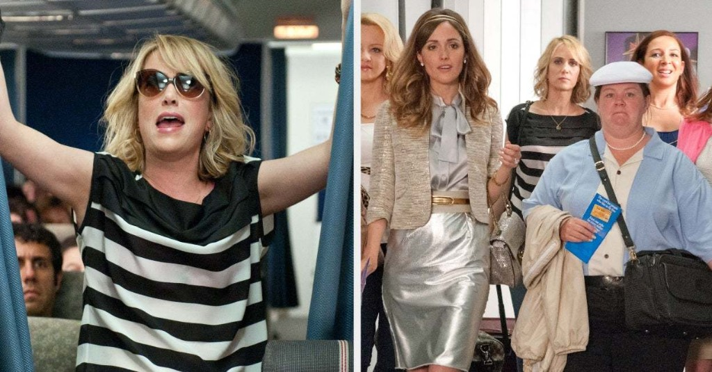 "The Director Of ""Bridesmaids"" Just Spoke About What Was Originally Planned Instead Of The Plane Scene, And Oh My, I'm Blushing"