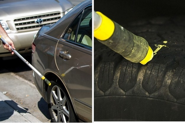 A Federal Court Ruled That It's Unconstitutional For Parking Officials To Chalk Your Tires