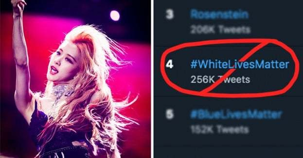 K-Pop Fans Are Flooding The #WhiteLivesMatter Hashtag With Fancams To Drown Out All The Racist Tweets