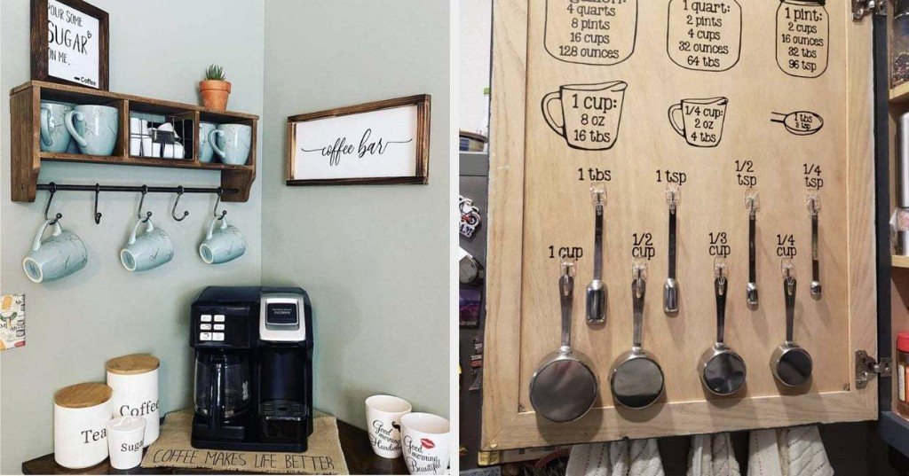 32 Ways To Organize A Tiny Kitchen That'll End Up Making A Big, Big Difference