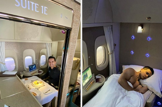 """This Is What It's Like Inside First Class, Business Class, And Economy Of """"The World's Best Airline"""""""