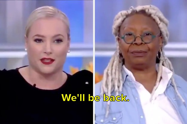 Whoopi Goldberg Both Shut Down Meghan McCain And Taught Her A Valuable Lesson In One Breath