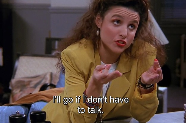 "19 Times Elaine From From ""Seinfeld"" Was Absolutely All Of Us"
