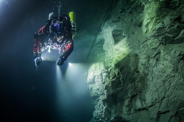 World's Deepest Underwater Cave Discovered In Czech Republic