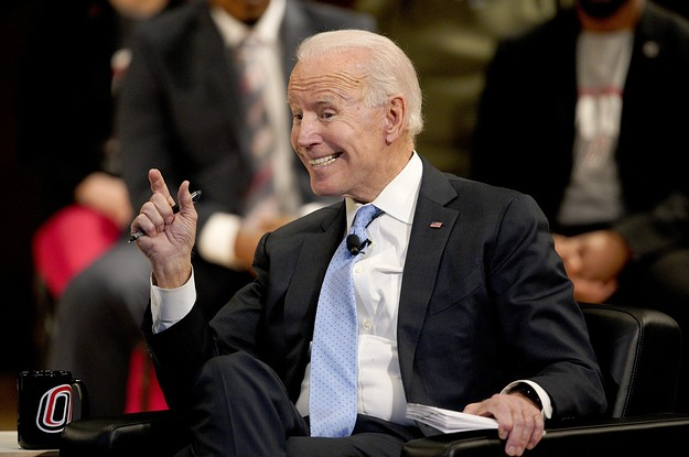 Joe Biden's Waiting Out His 2020 Decision In Comfort