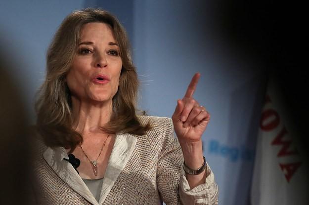 "Marianne Williamson Said Antidepressants Are Overprescribed For ""Normal Human Despair"""