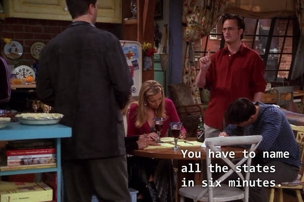 Can You Pass Chandler Bing's U.S. States Test?