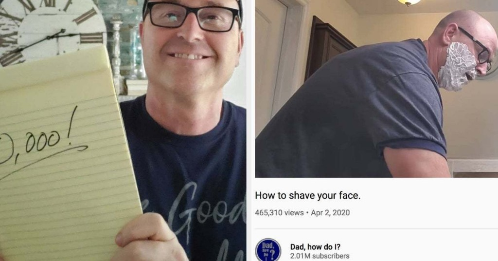 "One Man's New YouTube Channel Teaching ""Dad"" Life Lessons Has Gone Insane Viral. The Responses Are Both Tragic And Touching."