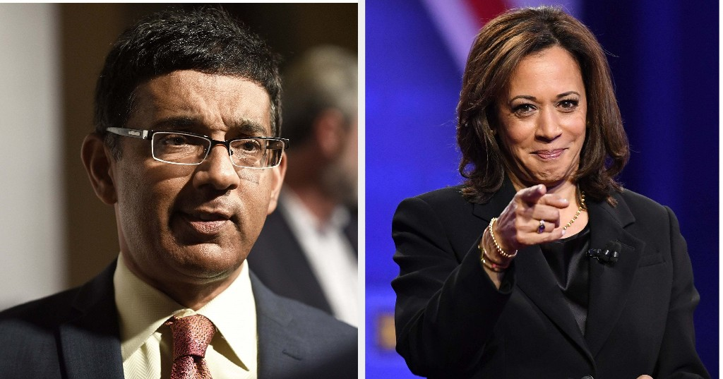 Dinesh D'Souza's Attacks On Kamala Harris Are Part Of A Bigger Problem In The Indian Community