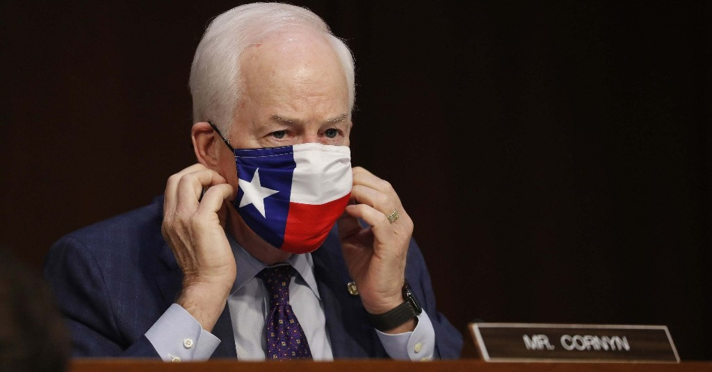 While Texans Brace For Another COVID Spike, Healthcare Is Defining Their Senate Race