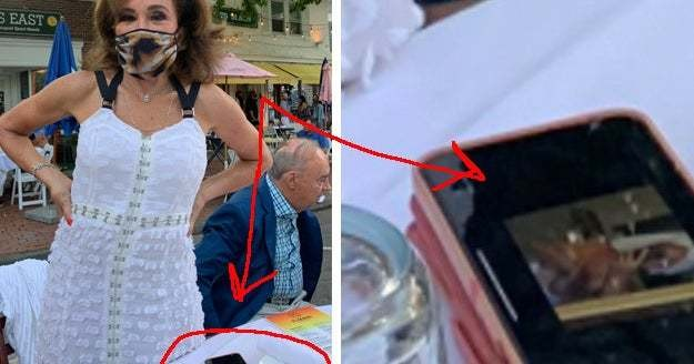 Chrissy Teigen Called Out A Fox News Host For Looking At Her Boobs On Her Phone
