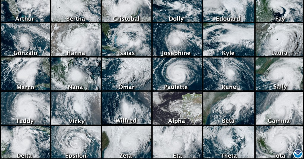 Here Are All 30 — Yes, 30 — Hurricanes And Tropical Storms That Hit The Atlantic In 2020