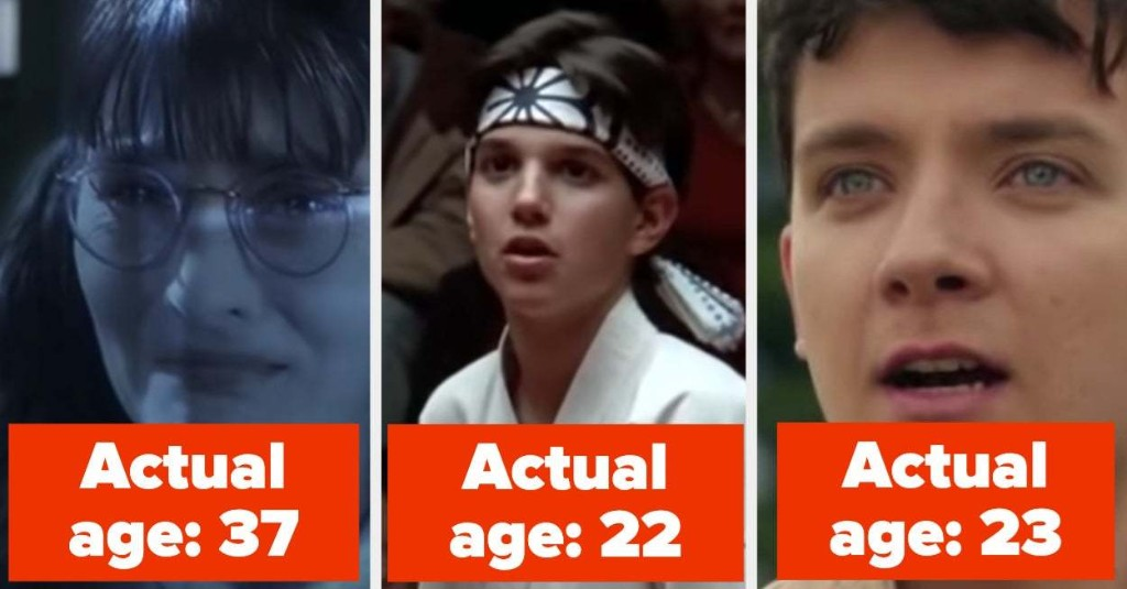 26 Teen Characters That You Forgot Were Actually Played By Adults