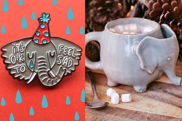19 Things You Need If You're Elephant-Obsessed