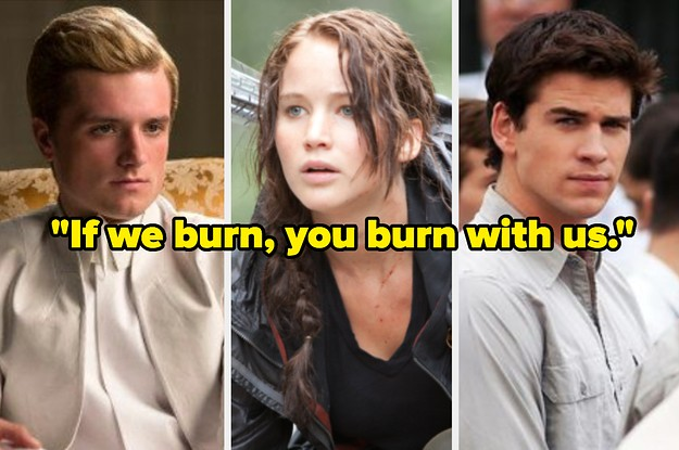 Who Said It: Katniss, Peeta, Or Gale?