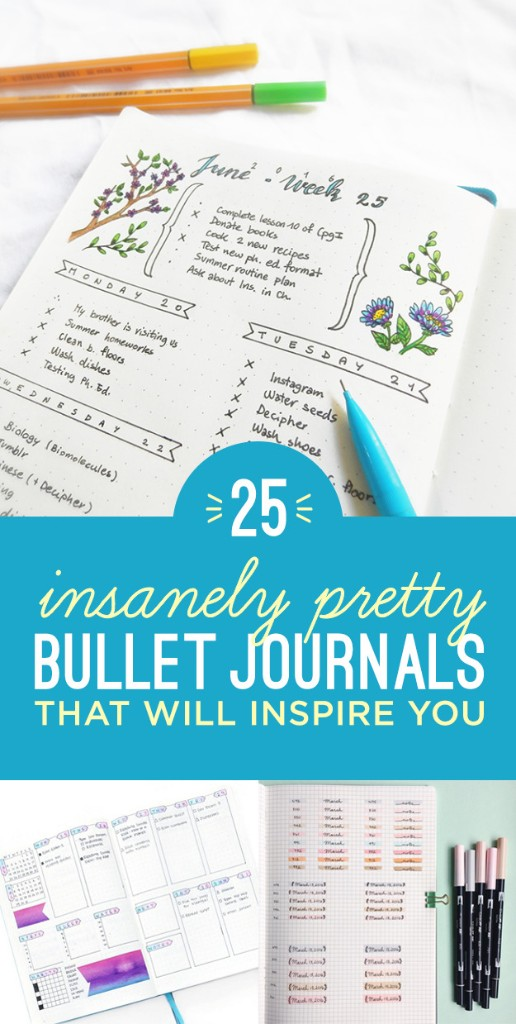 Bullet Journals - Magazine cover
