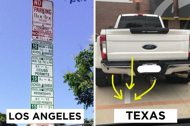 30 Photos That Prove Texas And LA Are Two Separate Worlds