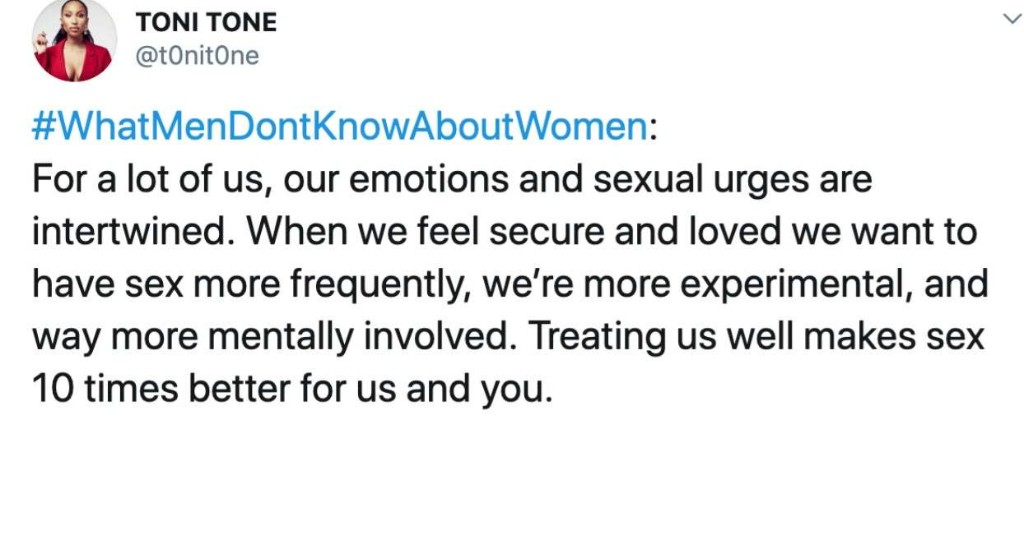 Women Are Sharing Things Men Don't Know About Women, And It's Insightful AF