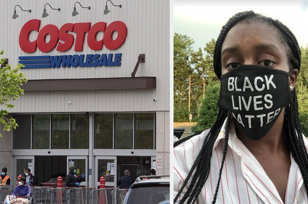 Costco Didn't Enforce Its Dress Code — Until Workers Started Wearing Black Lives Matter Masks