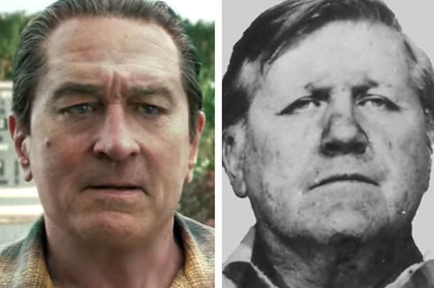 """Here's What """"The Irishman"""" Cast Looks Like Vs. The People They Played IRL"""
